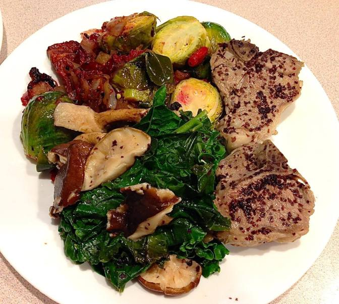 Terry Wahls' lamb skillet meal