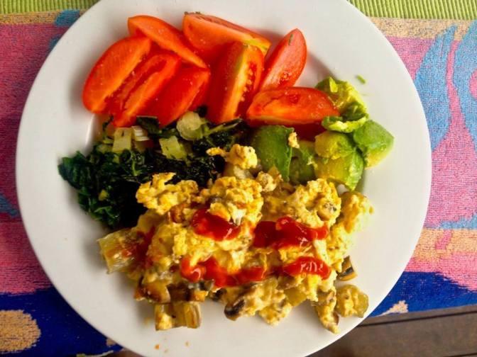 Bruce's breakfast