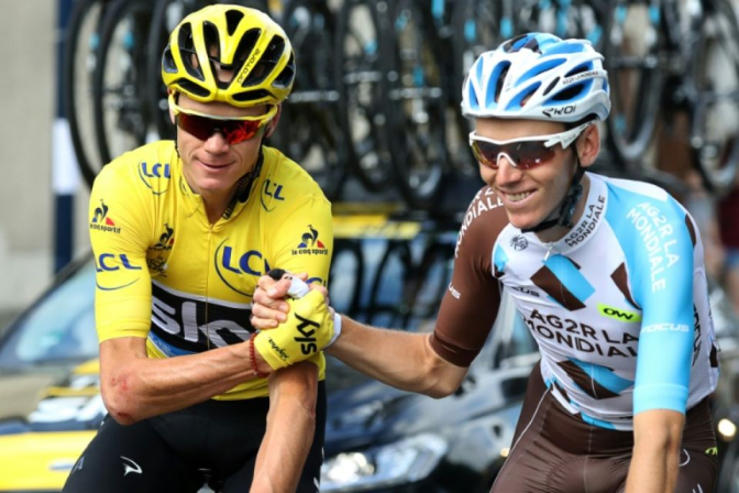 the breakfast of champions (Chris Froome and Romain Bardet diet analysis)