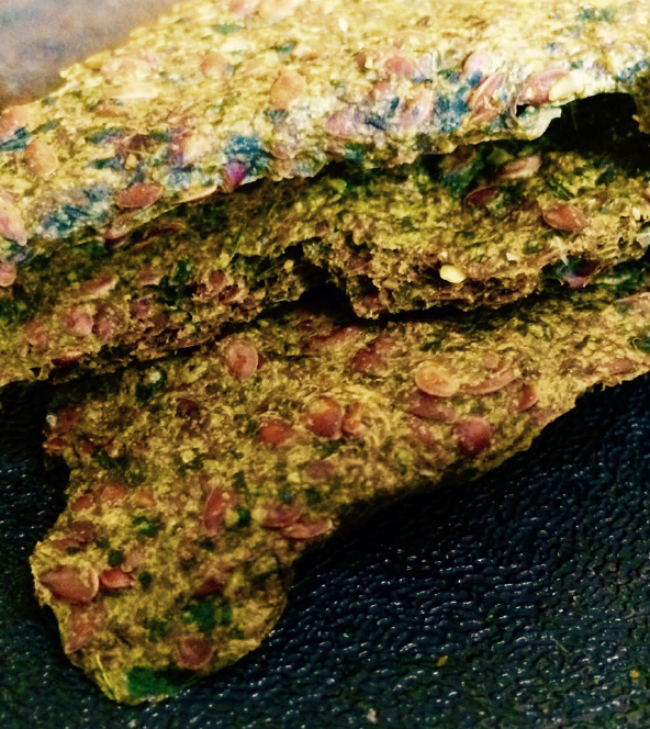 micronutrient flax crackers